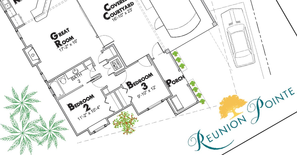 Reunion Pointe floor plans